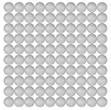 Craft Styrofoam Balls (1 Inch - 2.54 cm) for DIY Crafting and Decoration by My Toy House | White Color (100 Pack)