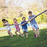 Tug of War | 16' Tug of War Rope | 1.5' Thick Game Rope | Outdoor Burlap Storage Bag Included | Perfect for Parties and Outdoor Fun!
