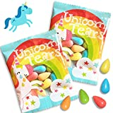 Unicorn Tears - Sour Candy - Unicorn Party Favors - Rainbow Candy Party Supplies Individually Wrapped Treats