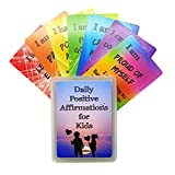 Daily Positive Affirmation Cards for Kids - Encourage & Inspire your children daily to increase confidence and promote a positive attitude