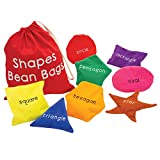 Educational Insights Shapes Beanbags – Educational Toy for Toddlers, Sensory Toy for Preschoolers