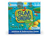 Learning Resources Sum Swamp Game, Addition/Subtraction, Early Math Skills, 8 Pieces, Ages 5+