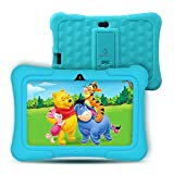 Dragon Touch Y88X Pro 7 inch Kids Tablets with Disney Story Contents, 2GB RAM 16GB ROM, Android 9.0 Tablets, Kidoz Pre-Installed WiFi Android Tablet, Kid-Proof Case, Blue