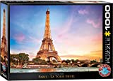 EuroGraphics Paris Eiffel Tower Puzzle (1000 Piece), Model:6000-0765
