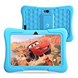 Dragon Touch Y88X Pro 7 inch Kids Tablets, 2GB RAM 16GB ROM, Android 9.0 Tablet, Kidoz Pre Installed with Disney Contents (More Than $80 Value), Blue