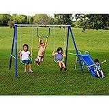 Flexible Flyer Fun Time Metal Swing Set