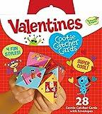 Peaceable Kingdom 28 Card Cootie Catcher Valentines with Envelopes