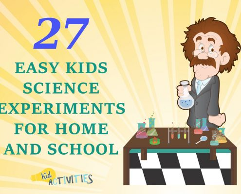 easy kids science experiments for home and school