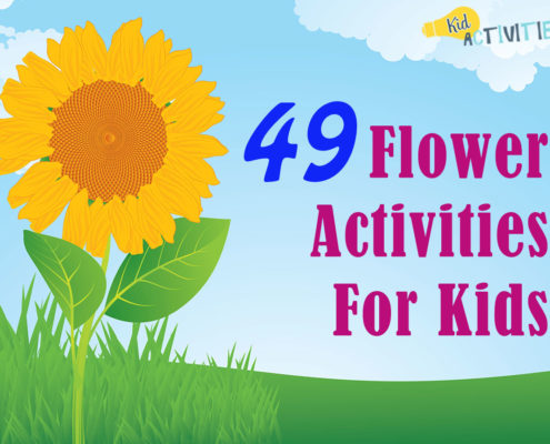 49 Flower Activities For Kids