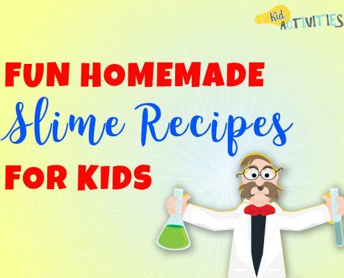 Fun Homemade Slime Recipes for Kids