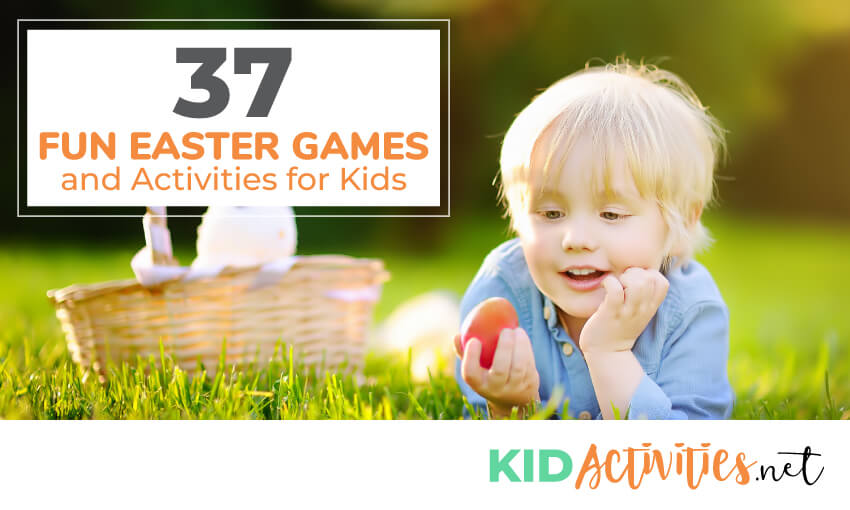 A collection of 37 fun Easter games and activities for kids. Great Easter themed activities for the classroom.