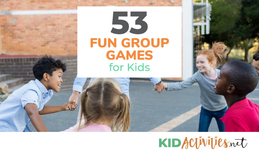 Young Kids Are Being Shuffled From One Activity To Another In >> 53 Fun Group Games And Activities For Kids Kid Activities