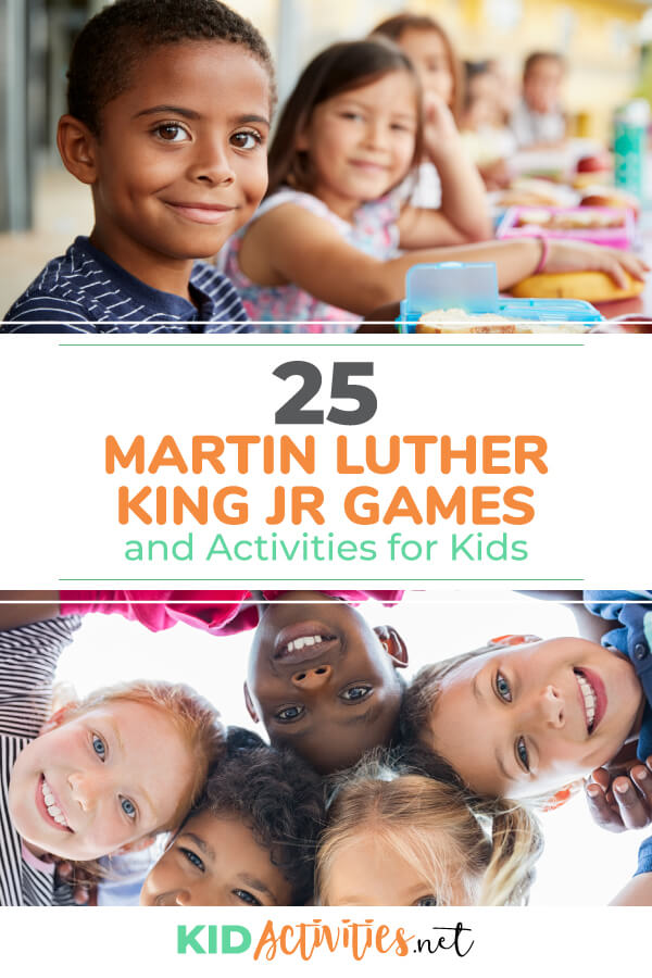 A collection of Martin Luther King Jr. themed games and activities for kids. Use the activities to help teach your class about this historical figure.