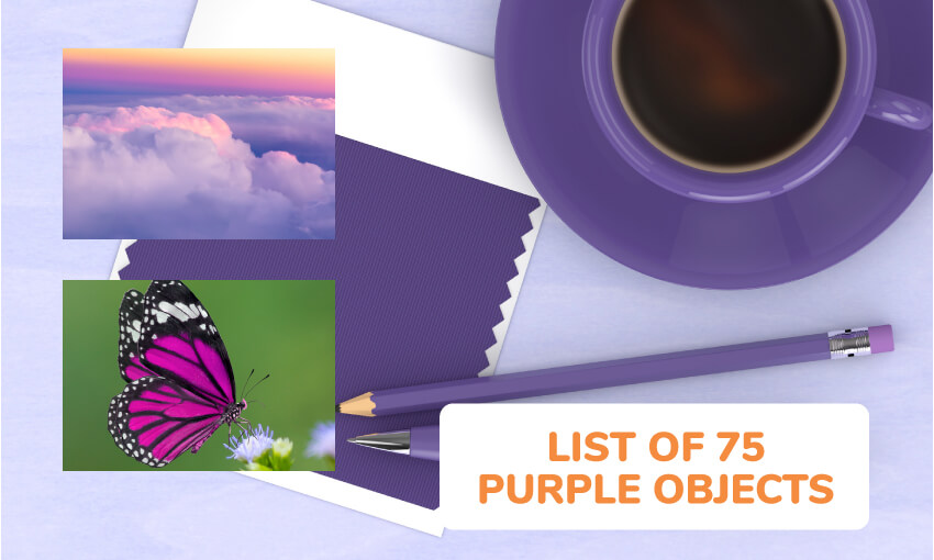 A list of 75 purple objects.
