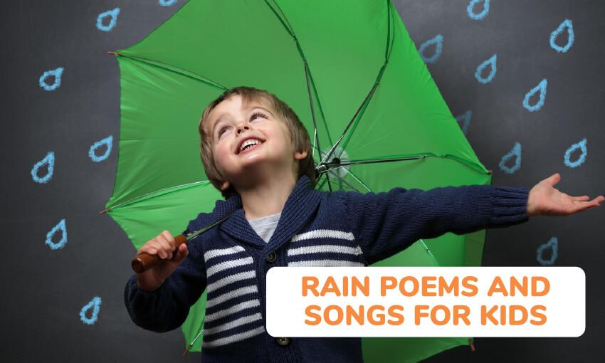 孩子们的雨诗和歌曲的集合。