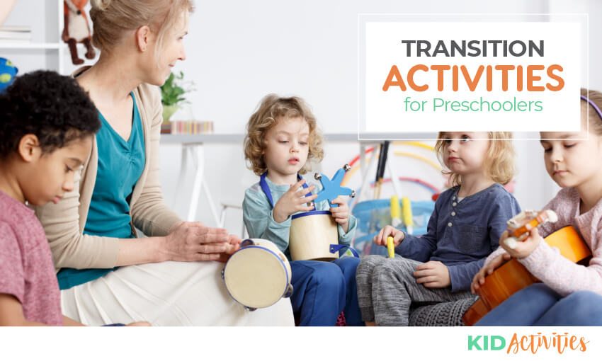 A collection of transition activities for elementary age kids.
