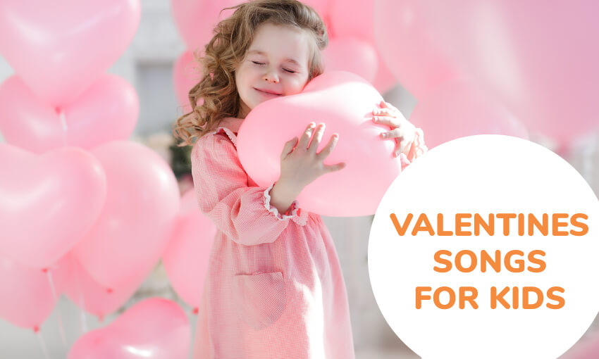 A collection of valentines songs for kids. Great for Valentines day activities in the classroom.