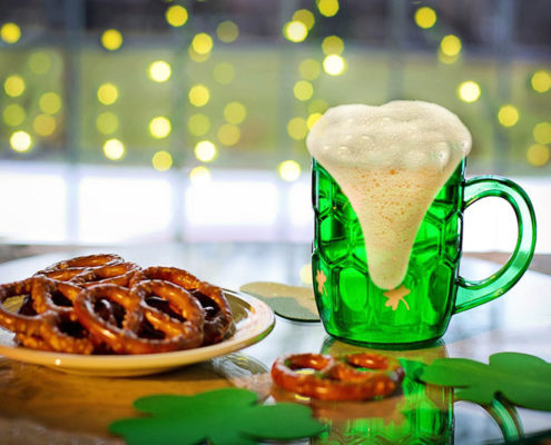 St. Patrick's Day Snacks and Drinks