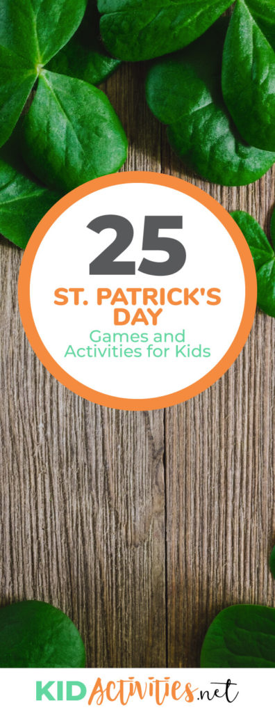 A collection of St. Patrick's Day games and activities for kids. These are great games for the classroom or a St. Patrick's Day party.