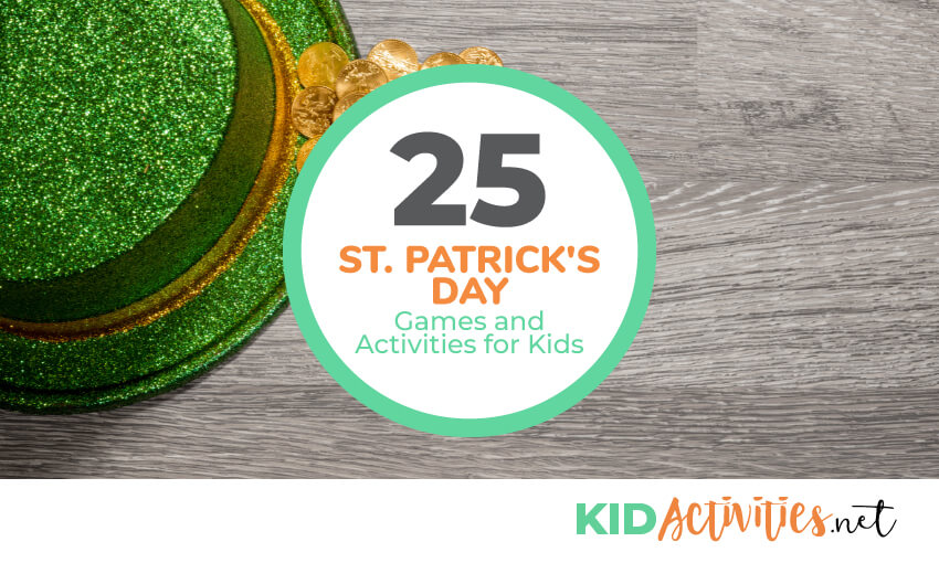 A collection of St. Patrick's Day games and activities for kids.