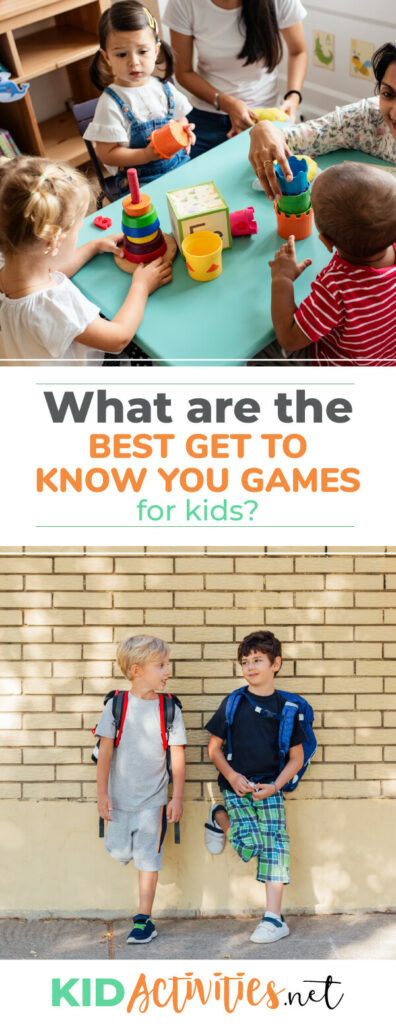 What are the best get to know you games for kids? We have 47 games that are sure to break the ice and bring a group of kids together.