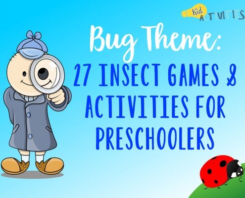 Bug Theme 27 Insect Games and Activities for Preschoolers