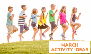 A collection of March activity ideas for the month of March.