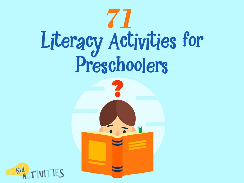 71 Literacy Activities for Preschoolers [Fun Writing and Reading ...
