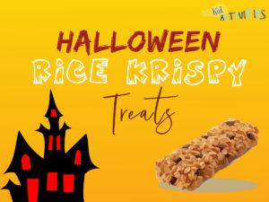 halloween rice krispy treats