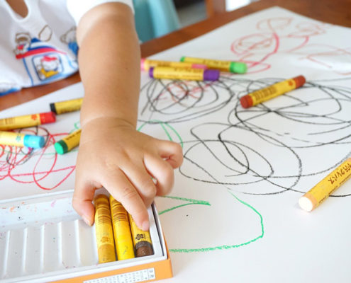 Writing and Language Centers for Kids