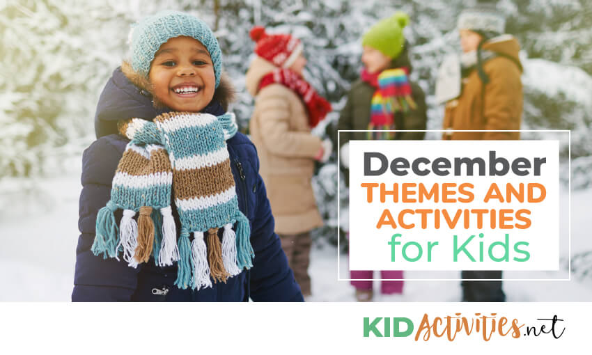 December activities and lesson planning ideas.
