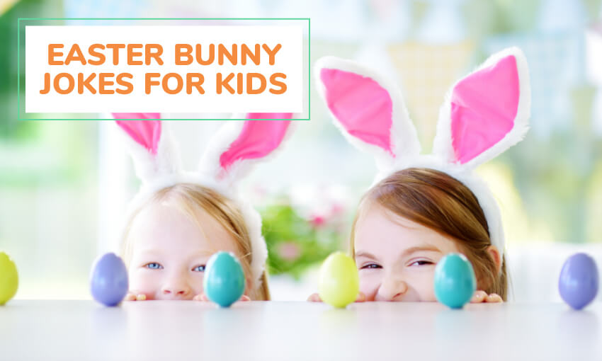 A collection of Easter bunny jokes for kids.