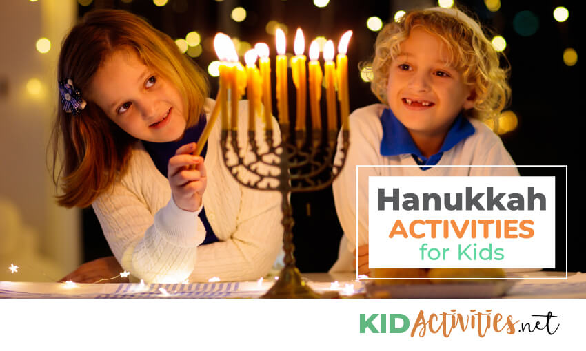A collection of Hanukkah activities for kids.