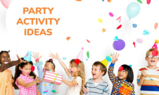 A collection of party activity ideas for kids.