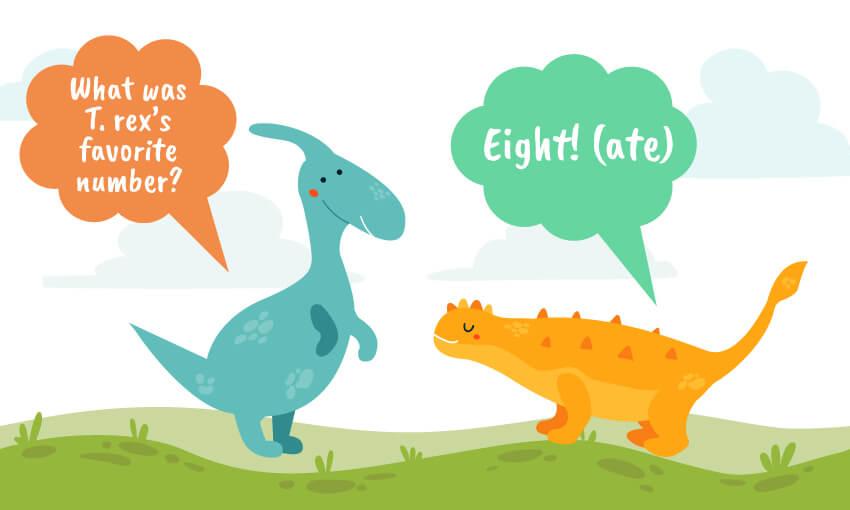 what's t-rex's favorite number joke