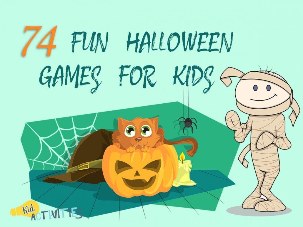 74 Fun Halloween Games For Kids [Halloween Game Ideas!] - Kids ...