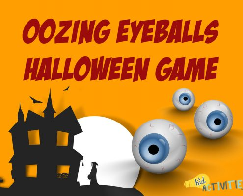 Oozing Eyeballs Halloween Game