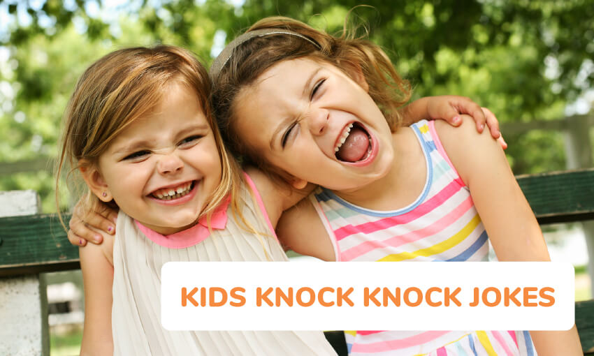 A collection of kids knock knock jokes.
