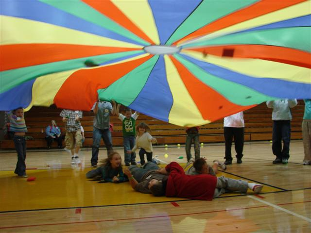 Game Ideas For Outdoor Parachute For Kids