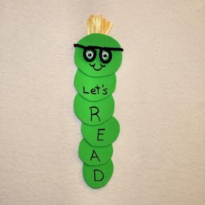 Bookworm Craft Art