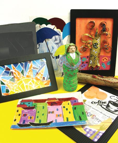 earth week art exhibit for kids