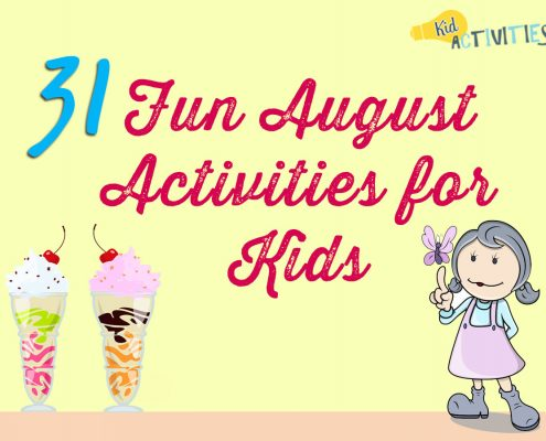 fun august activities for kids