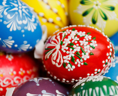 Decorating Eggs and More