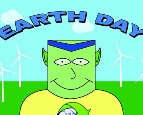 Earth Day-Every Day! Menu
