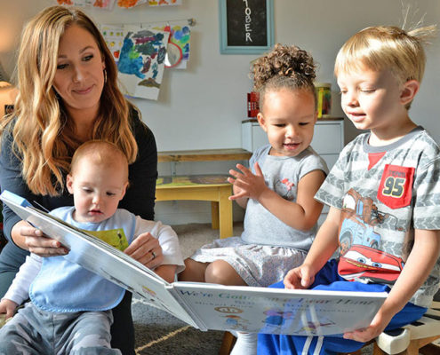 Sharing Space in Child Care Programs