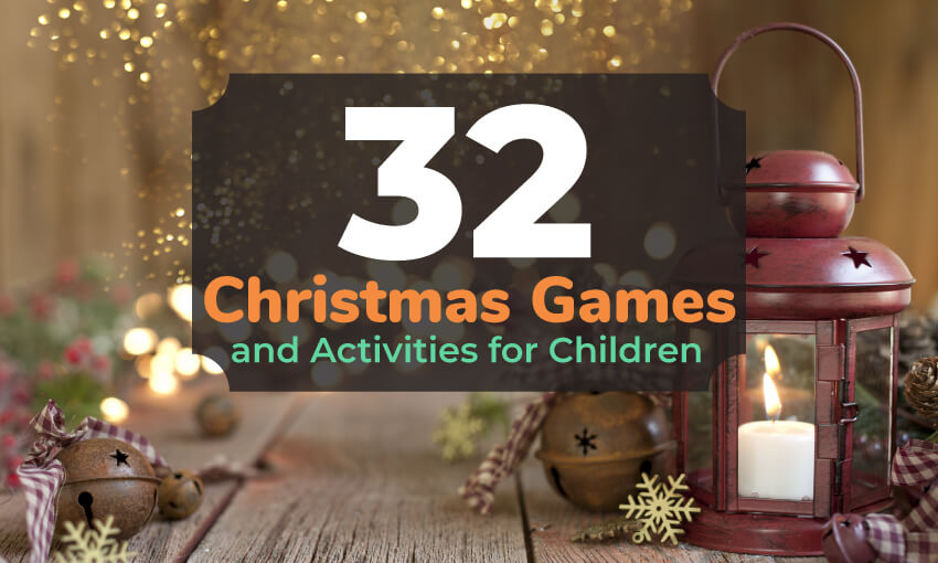 A collection of fun Christmas games and activities for children. These entertaining activity ideas are a great way to bring in the holiday season and heighten the Christmas spirit.