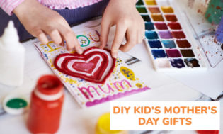 A collection of DIY kids Mother's Day gifts.