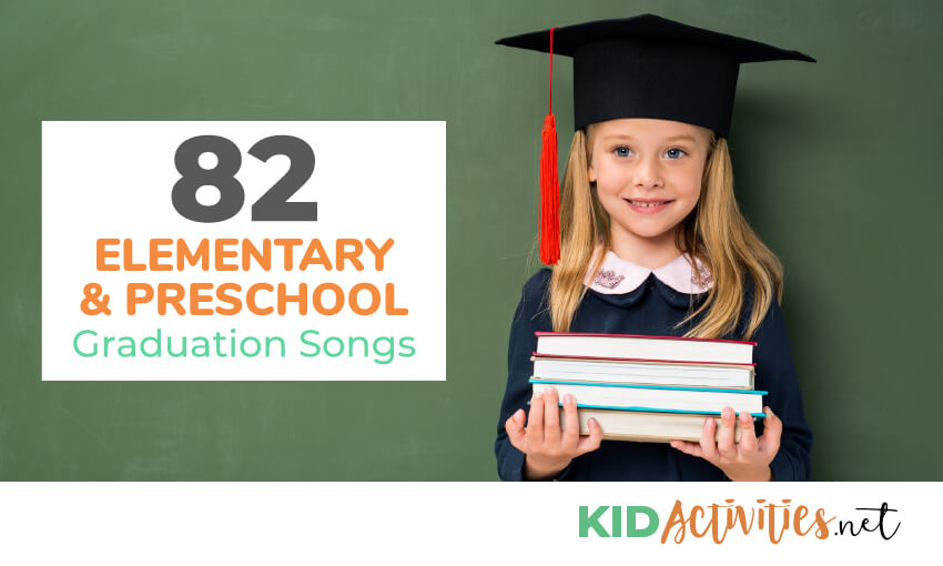 A collection of elementary and preschool graduation songs.