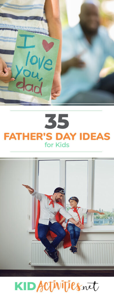A collection of Father's Day ideas for kids. Great recipe ideas, <a href=