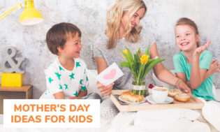 A collection of Mother's Day ideas for kids.